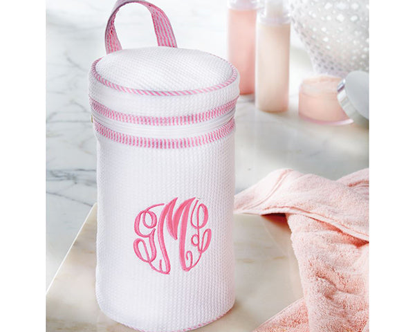 Waffle Weave Toiletry Case (Personalization Available)