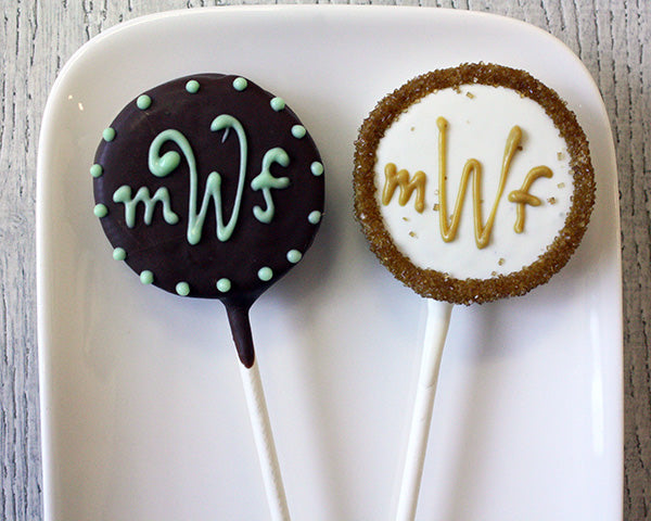 Monogram Oreo® Cookie Pop Favors