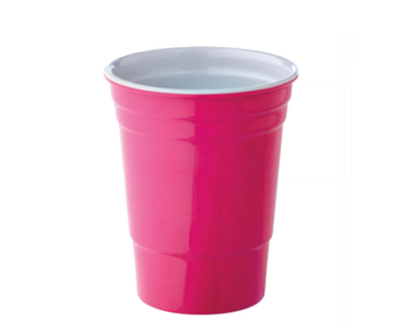 Load image into Gallery viewer, 15 oz. Pink Melamine Fun Cup
