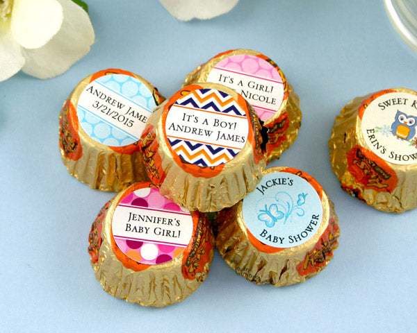 Personalized Exclusive Baby Hershey's Reese's (Many Designs Available) | My Wedding Favors