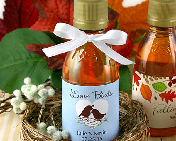 Personalized Maple Syrup (Many Designs Available) | My Wedding Favors