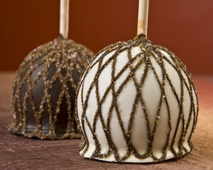 Vintage Filigree Decadent Chocolate Apples
