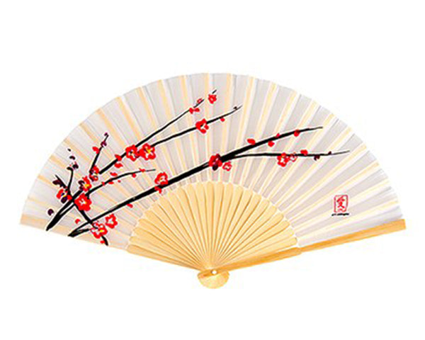 Cherry Blossom Hand Fan (Set of 6)
