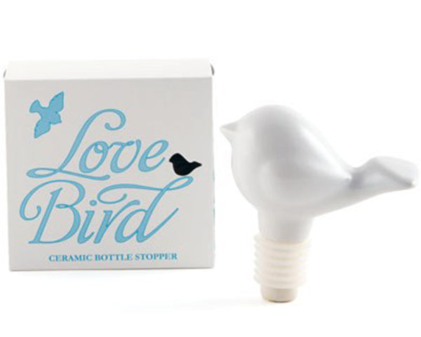 Load image into Gallery viewer, Ceramic Love Bird Bottle Stopper
