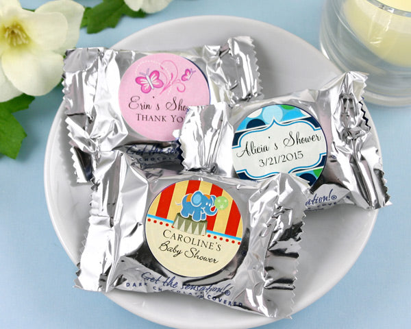 Personalized Exclusive Baby York Peppermint Patties (Many Designs Available) | My Wedding Favors