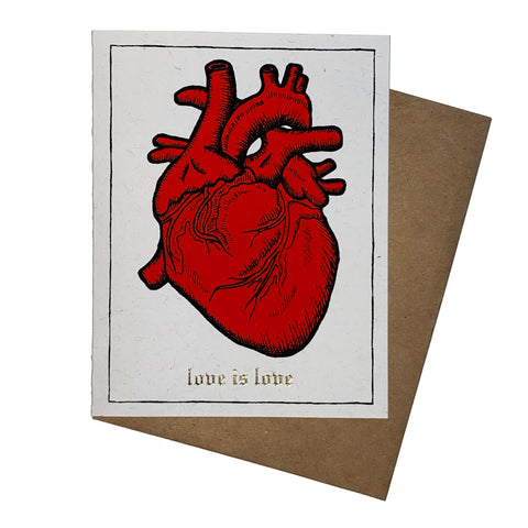 """Love is Love"" card"