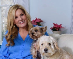 Mary and her 2 dogs