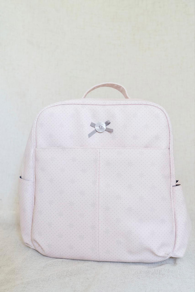 Back Pack Vinipiel Rosa