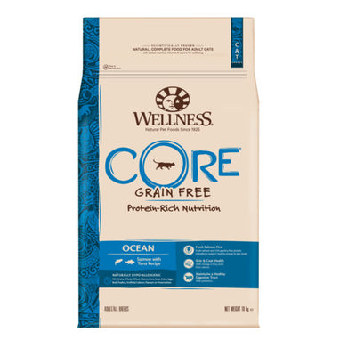 Wellness CORE Ocean Fish Salmon and Tuna Grain Free Dry Adult Cat Food