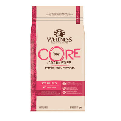 Wellness CORE Sterilised Salmon Grain Free Dry Adult Cat Food
