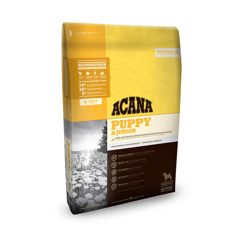 Acana Heritage Grain Free All Breeds Puppy and Junior Food