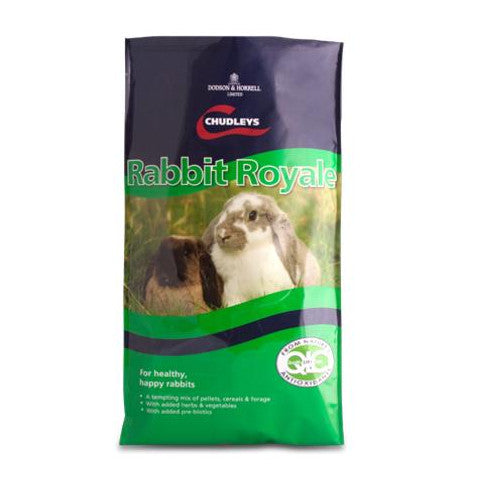 Chudleys Rabbit Royale Food 15kg