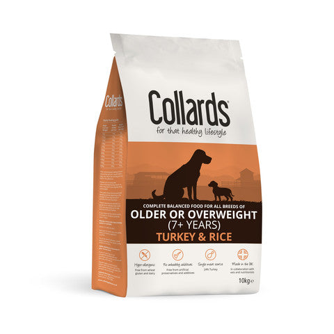 Collards Hypoallergenic Older or Overweight Turkey And Rice Dog Food