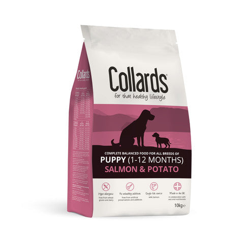 Collards Hypoallergenic Puppy Salmon And Potato Dog Food
