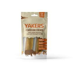 Yakers Dog Chews Medium Pre-pack
