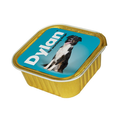 Dylan Working Dogs Foil Trays Dog Food 4 x 150g