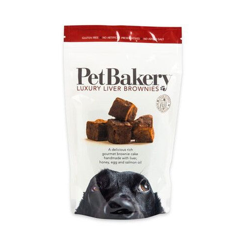 Pet Bakery Luxury Liver Brownie Dog Treats 190g