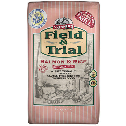 Skinners Field and Trial with Salmon and Rice Dog Food 15kg