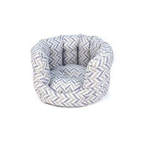 Project Blu Danube Cat Bed Grey Chevron