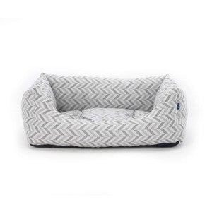 Project Blu Goa Domino Bed Blue Chevron