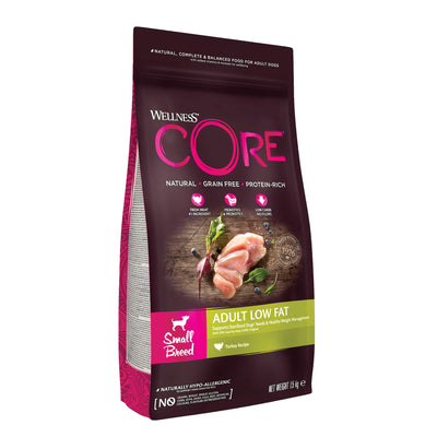 Wellness Core Small Breed Low Fat Turkey 1.5kg
