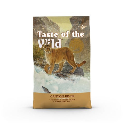 Taste of the Wild Canyon River Grain Free All Life Stage Cat Food