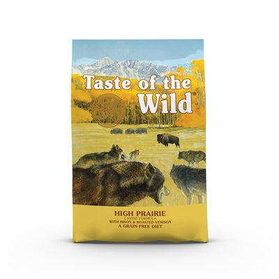 Taste of the Wild High Prairie Grain Free All Breeds Dog Food