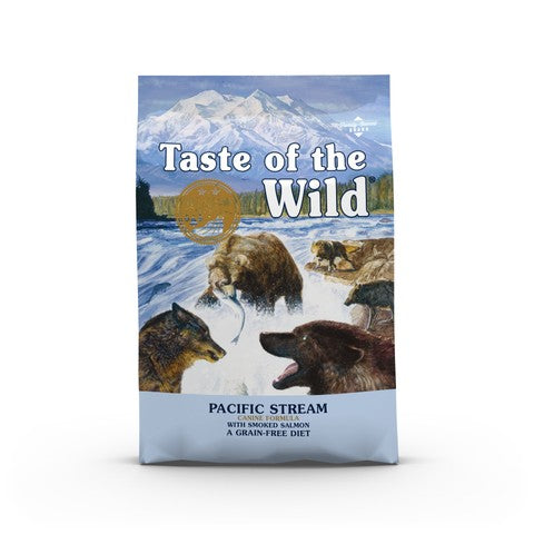 Taste of the Wild Pacific Stream Grain Free All Breeds Dog Food