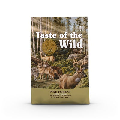 Taste of the Wild Pine Forest Grain Free All Breeds & Life Stage Dog Food