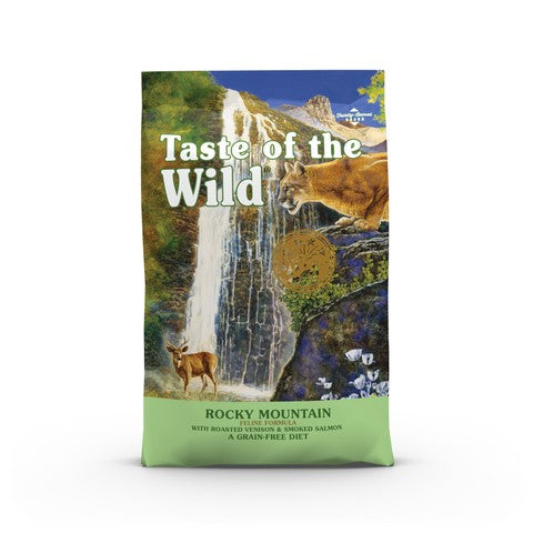 Taste of the Wild Rocky Mountain Grain Free All Life Stage Cat Food