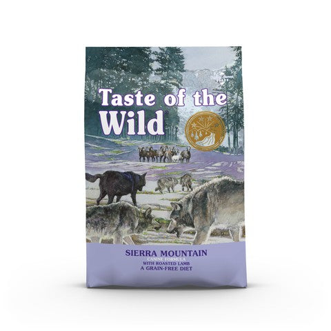 Taste of the Wild Sierra Mountain All Breeds Adult Dog Food