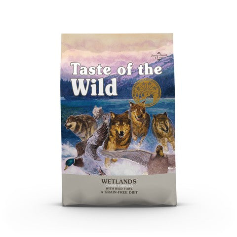 Taste of the Wild Wetlands Canine Formula Grain Free Dog Food