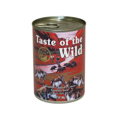 Taste of the Wild Southwest Canyon Canine Canned Wet Formula in Gravy 12 x 390g