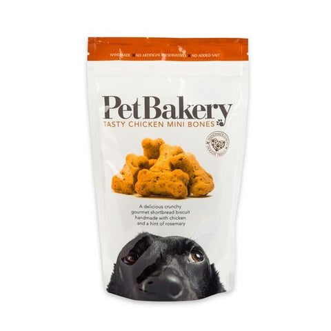 Pet Bakery Tasty Chicken Mini Bones Dog Treats 190g