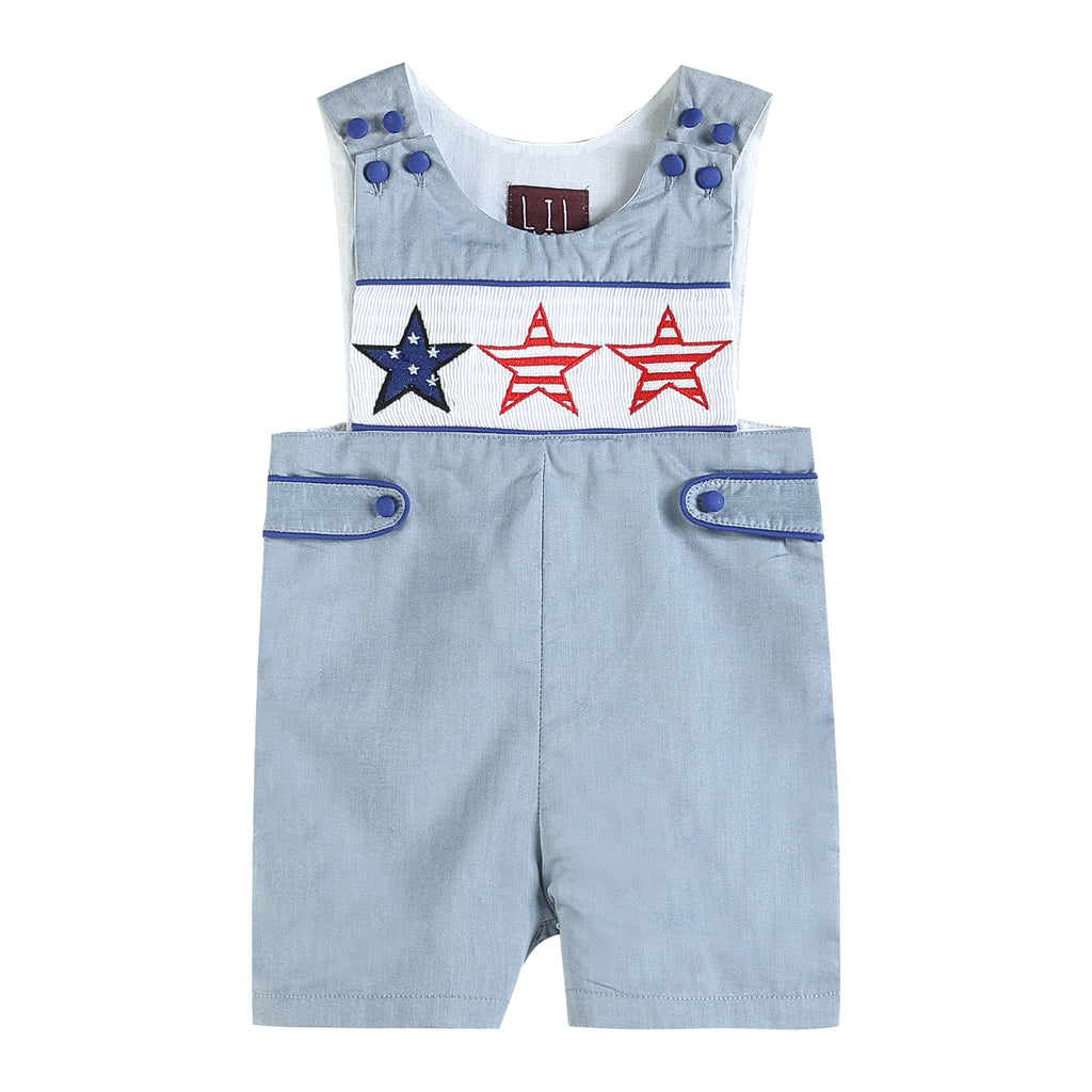 Denim Look Americana Stars Short Pant John Johns