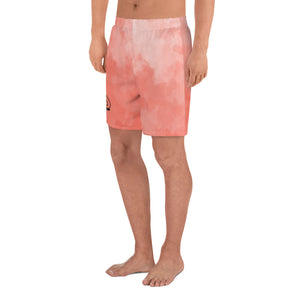 Peach Sunset Athletic Long Shorts