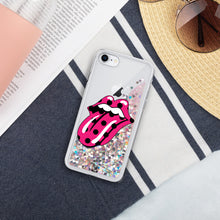 Load image into Gallery viewer, The Stone Liquid Glitter Phone Case