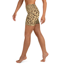 Load image into Gallery viewer, Leopard Yoga Shorts