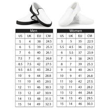 Load image into Gallery viewer, Orange Cartoon -  Drawing Pattern Design White Slip On Shoes