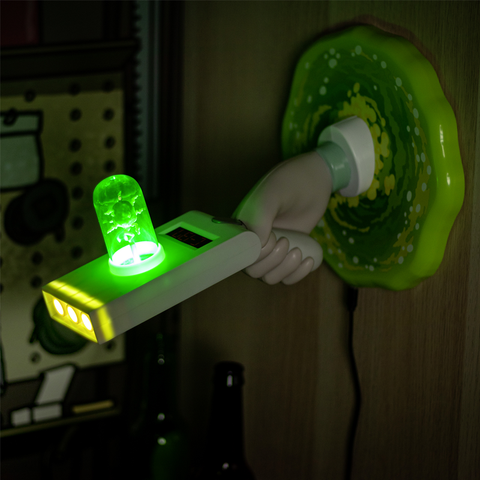 Lampe Rick Morty