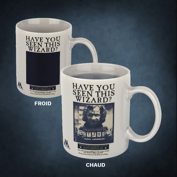 Mug thermoréactif Sirius Black Harry Potter