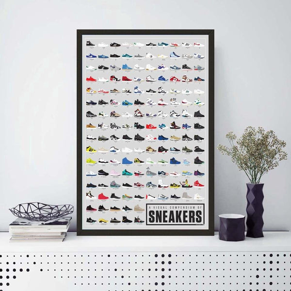 Affiche collection de Sneakers - Melty Stores