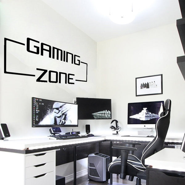 "Sticker ""Gaming Zone"""