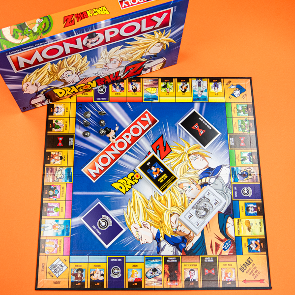 Monopoly Dragon Ball Z - Melty Stores