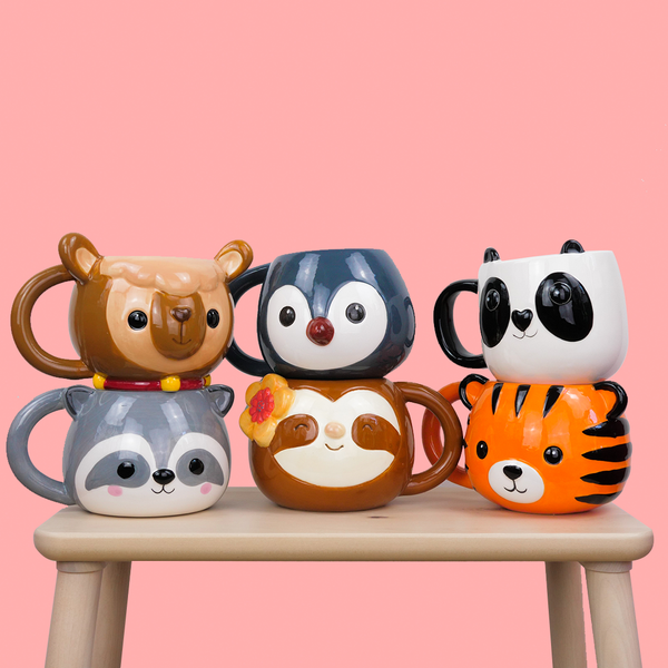 Mugs têtes d'animaux - Melty Stores