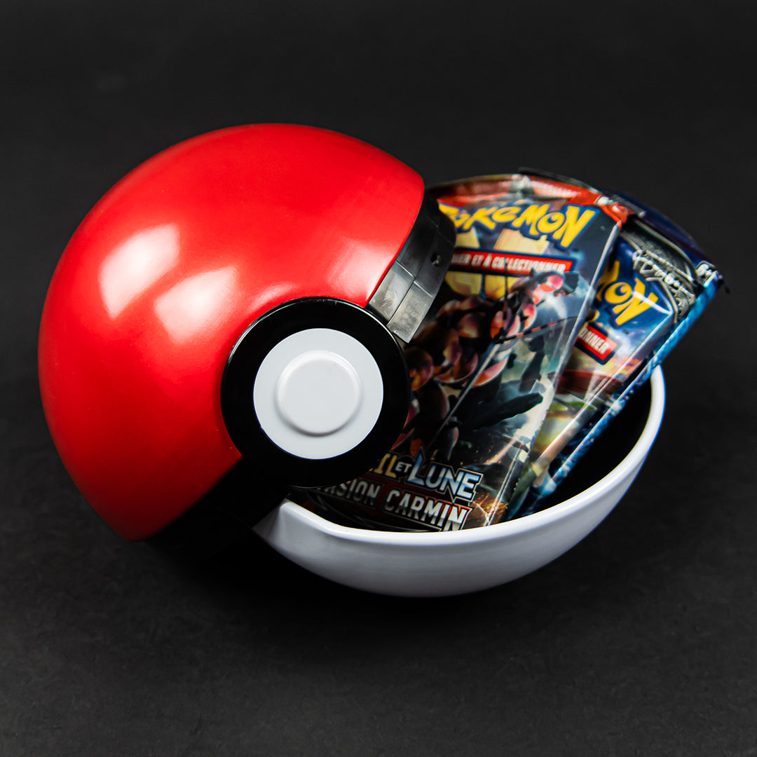 Pokeball (3 boosters Pokémon + 1 jeton)
