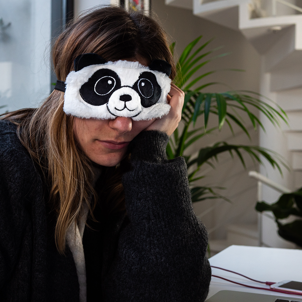 Masque de nuit Panda - Melty Stores