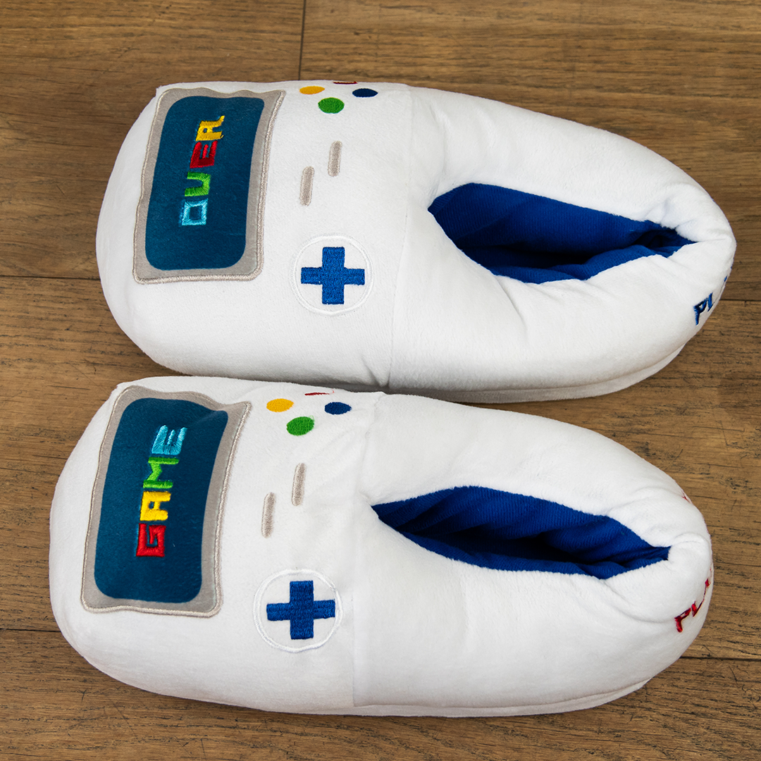 "Chaussons gaming ""Game over"""