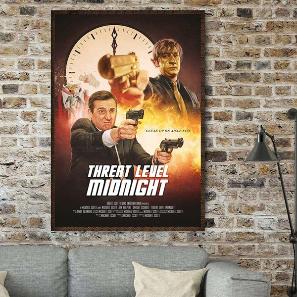 Affiche Threat Level Midnight - Melty Stores