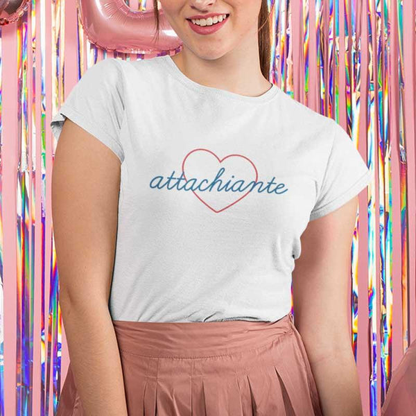 "T-shirt ""Attachiante"" - Melty Stores"